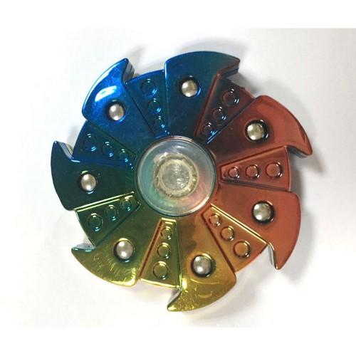 Fidget Hand Spinner Toy Rainbow