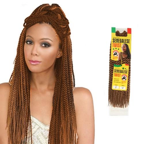 USA Stock 14 Inch 6PCS Synthetic Senegal Twist Braid