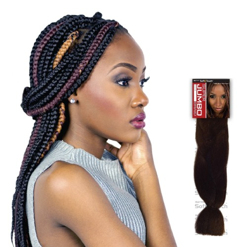 USA Stock 14 Inch 6PCS Synthetic PP Super Jumbo Braid