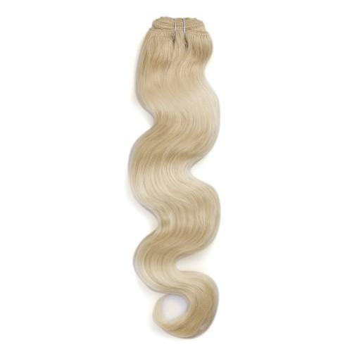100g Body Wavy Brazilian Remy Hair #60 Platium Blonde