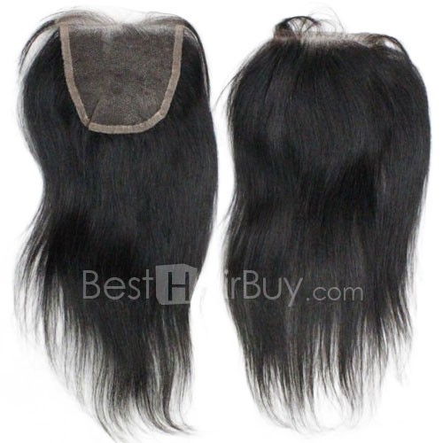 10-20 Inch Virgin Brazlian Hair Strainght 4*4 Free Part Lace Top Closure