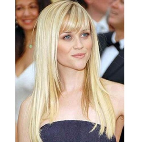 "20"" Amy Smart #613 Lightest Blonde  Silky Straight-PWC48"