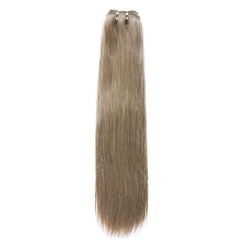 18 Inch Light Yaki Brazilian Remy Hair #18 Ash Blonde