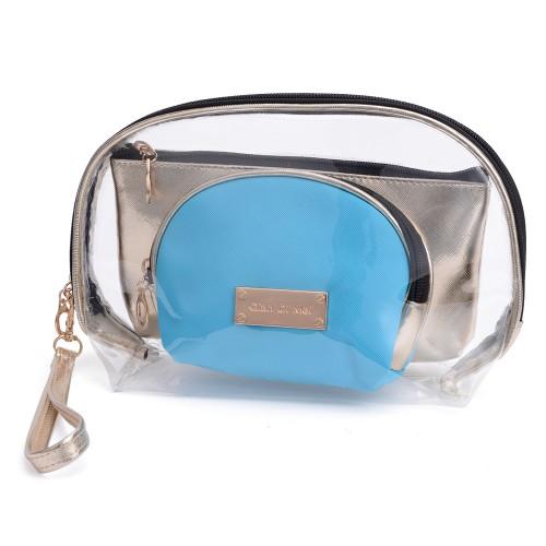 Cosmetic Bag Toiletry Bag Blue