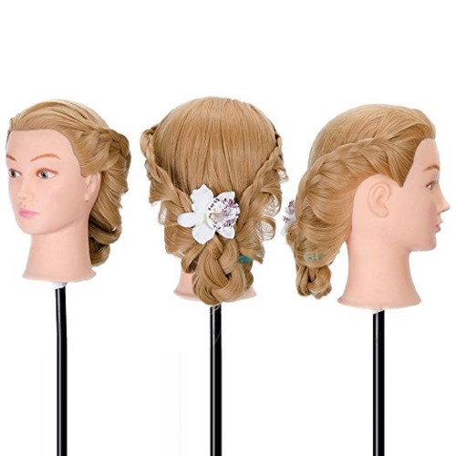 22inch Hair Hairdressing Cosmetology Mannequin