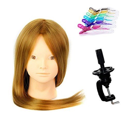 24inch Long Hair Cosmetology Mannequin Manikin