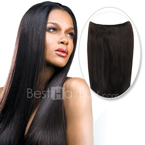 70g Flip In Human Hair #1B Natural Black
