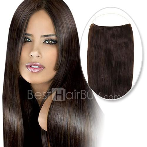 70g Flip In Human Hair #2 Darkest Brown