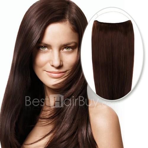 70g Flip In Human Hair #4 Chocolate Brown