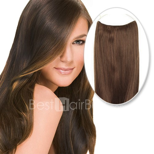 70g Flip In Human Hair #6 Medium Brown