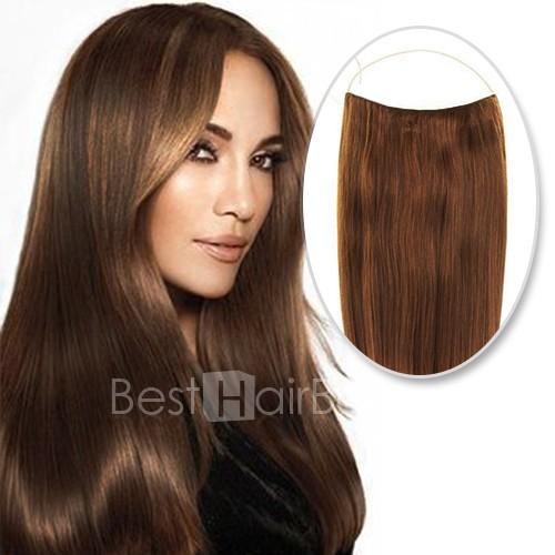 70g Flip In Human Hair #8 Light Brown