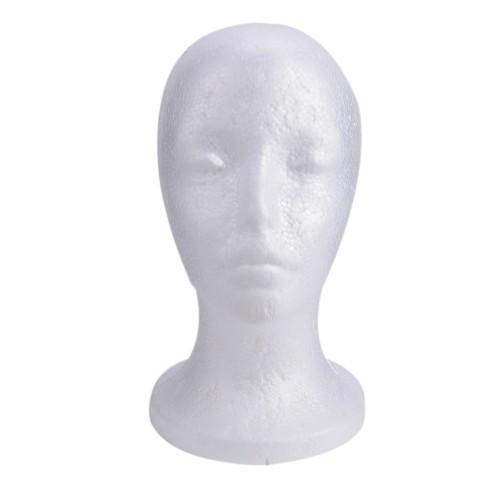 Styrofoam Head Model for Cosmetology Mannequin Manikin Practice