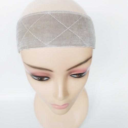 Velvet Wig Grip Beige
