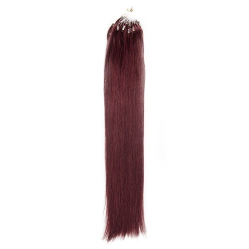 100s 1g/s Straight Micro Loop Hair Extensions #99J