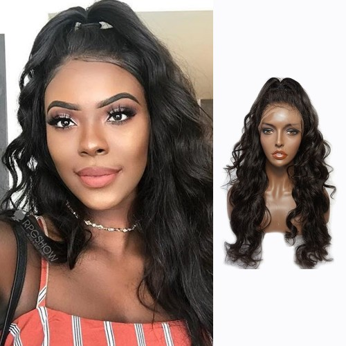 Lace Front Synthetic Hair Wig PWS441 Body Wavy