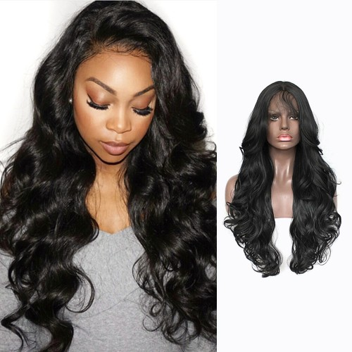 Lace Front Synthetic Hair Wig PWS448 Body Wavy