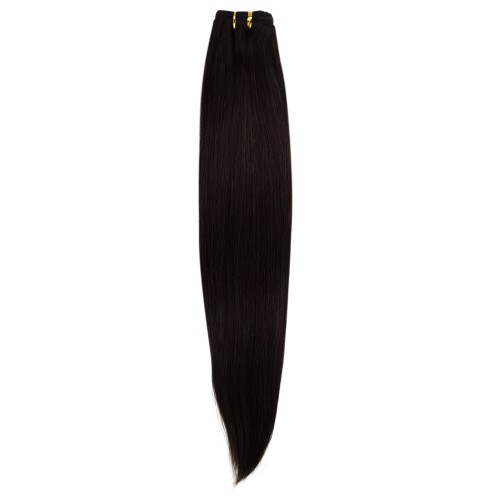 100g Straight Brazilian Remy Hair #2 Darkest Brown