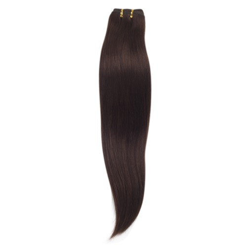 100g Straight Brazilian Remy Hair #4 Chocolate Brown