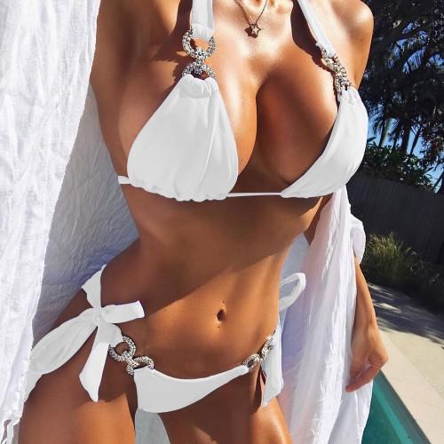 Sexy String Bikini Set SW1006 - White L