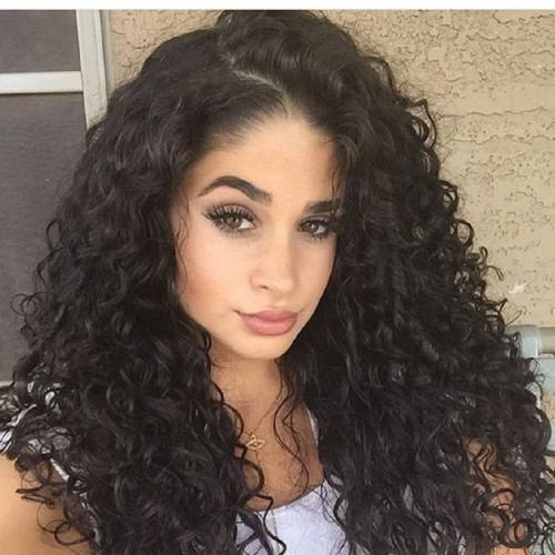 Synthetic Lace Front Hair Wig PWS173 Curly