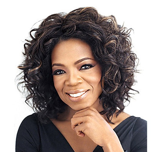 Synthetic Capless Hair Wig PWS183 Curly