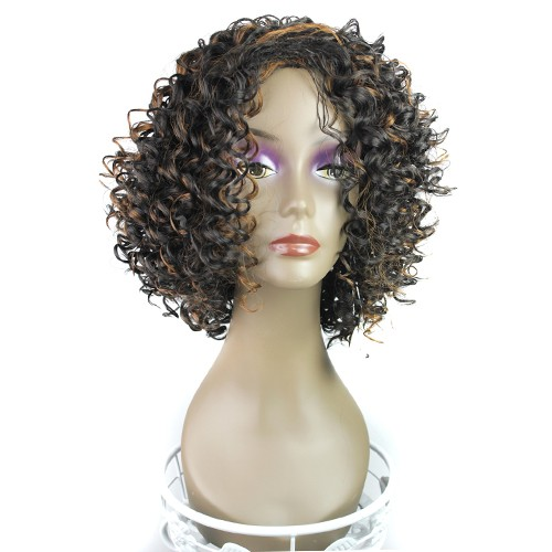 Synthetic Capless Hair Wig PWS201 Curly