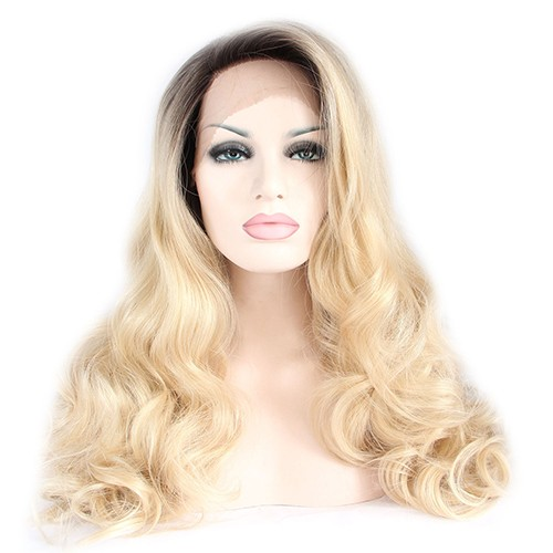 Synthetic Lace Front Hair Wig PWS227 Wavy