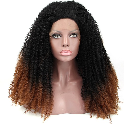 Synthetic Lace Front Hair Wig PWS244 Curly