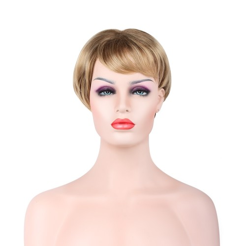 Custom Synthetic Lace Front Hair Wig PWS263 Straight