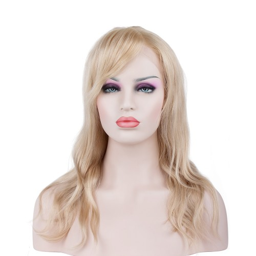 Custom Synthetic Lace Front Hair Wig PWS265 Natural Wavy