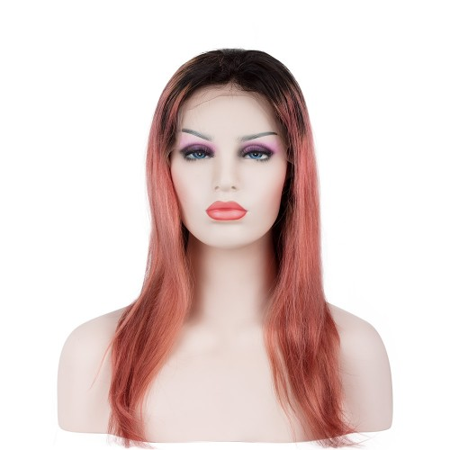 Custom Synthetic Lace Front Hair Wig PWS266 Straight