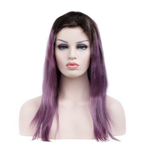Custom Synthetic Lace Front Hair Wig PWS278 Straight