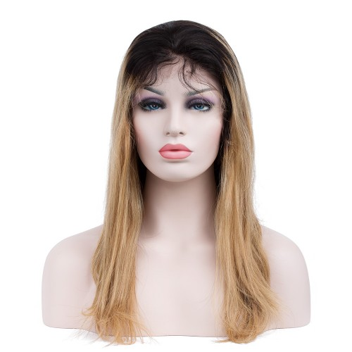 Custom Synthetic Lace Front Hair Wig PWS279 Straight