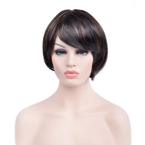 Custom Synthetic Lace Front Hair Wig PWS284 Straight