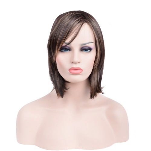 Custom Synthetic Lace Front Hair Wig PWS285 Straight