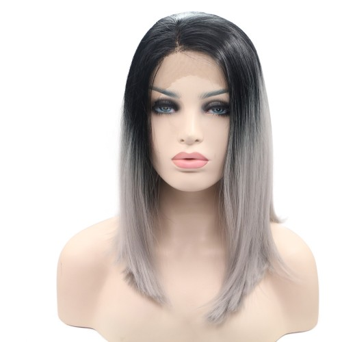 Synthetic Lace Front Hair Wig PWS300 Straight