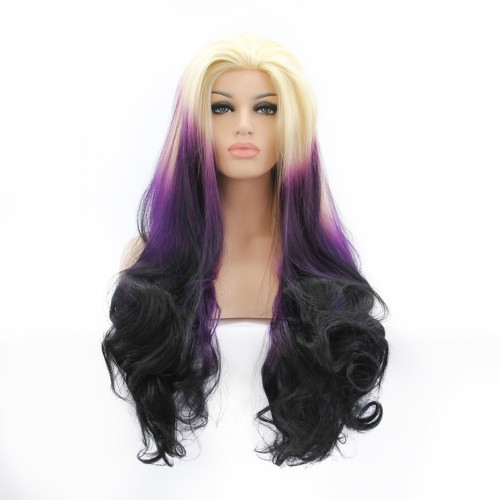 Synthetic Lace Front Hair Wig PWS307 Body Wavy