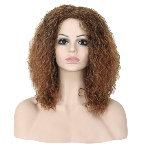 Synthetic Capless Hair Wig PWS322 Curly
