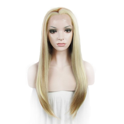 【Aniela】Synthetic Lace Front Hair Wig PWS346 Straight