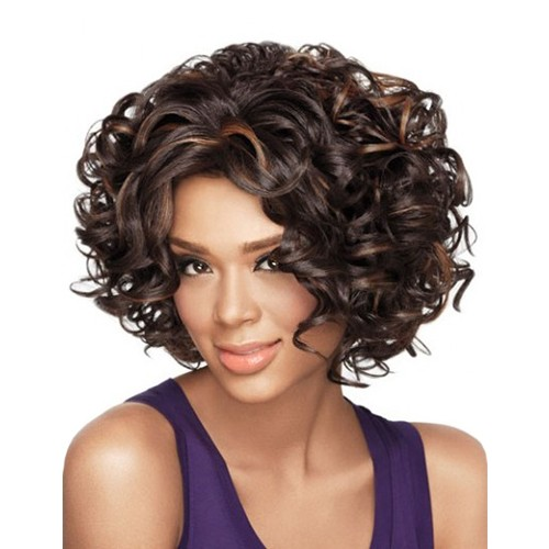 Synthetic Capless Hair Wig PWS136 Wavy