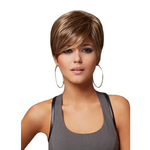 Synthetic Capless Hair Wig PWS156 Straight