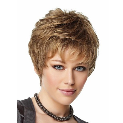 Synthetic Capless Hair Wig PWS158 Wavy