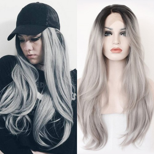 【Sanial】Synthetic Lace Front Hair Wig PWS182 Straight