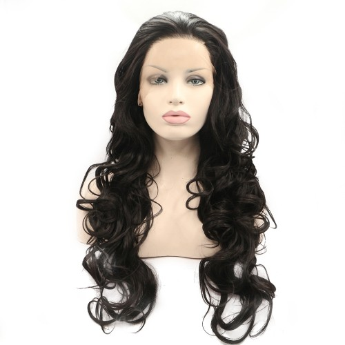 Synthetic Lace Front Hair Wig PWS354 Body Wavy