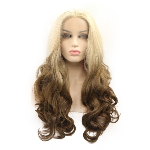 Synthetic Lace Front Hair Wig PWS360 Body Wavy