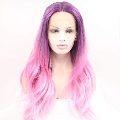 Synthetic Lace Front Hair Wig PWS63 Body Wavy