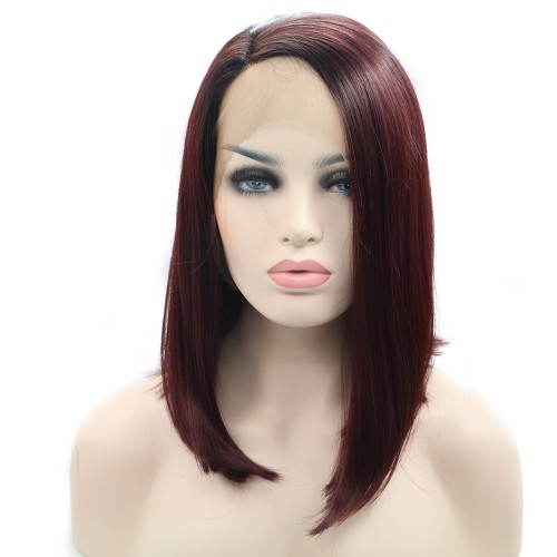 Synthetic Lace Front Hair Wig PWS370 Straight
