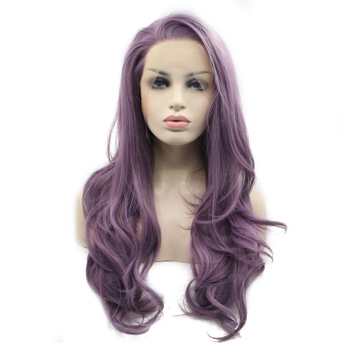 Synthetic Lace Front Hair Wig PWS384 Body Wavy