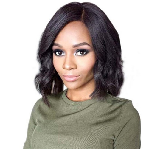 Lace Front Synthetic Hair Wig PWS396 Body Wavy
