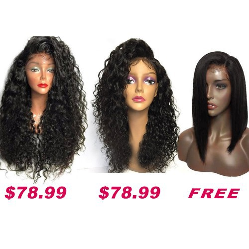 Buy 2 Get 1 Free Curly Wigs Sale On Pack PWSF415